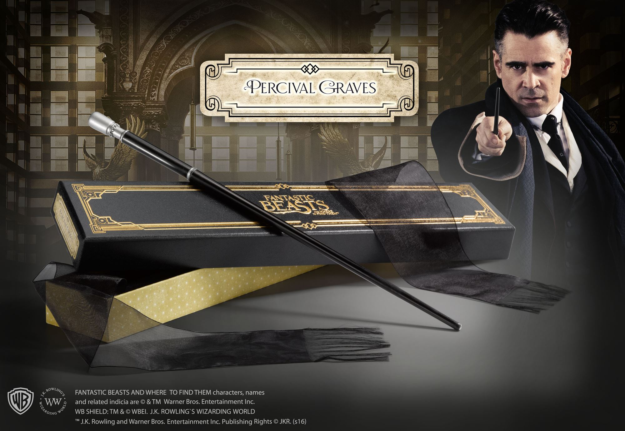 Percival Graves Wand Collector's Box