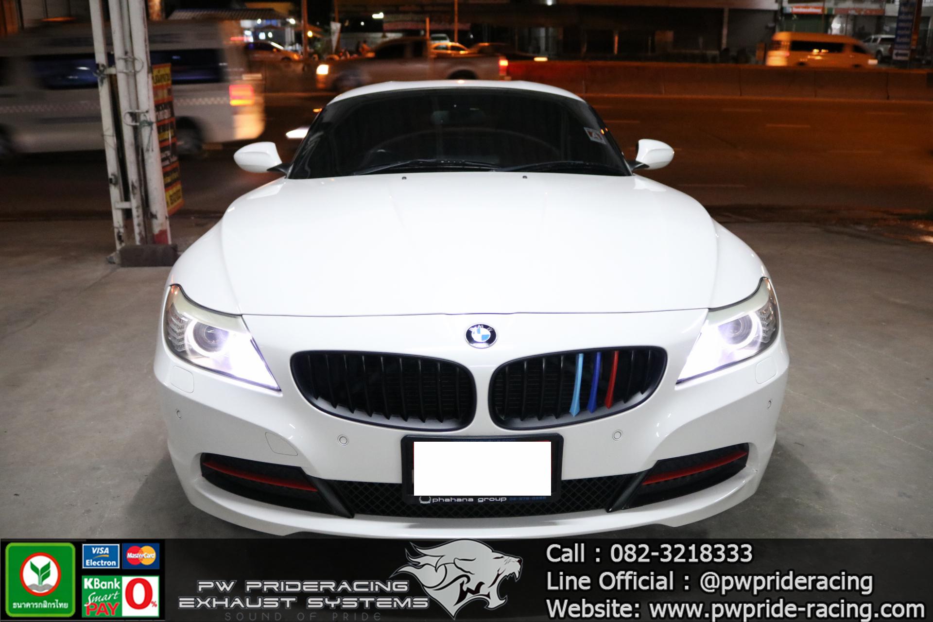 ชุดท่อไอเสีย BMW Z4 Custom-made @PW PrideRacing