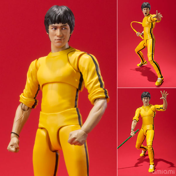 S.H. Figuarts - Bruce Lee (Yellow Track Suit)(Pre-order)