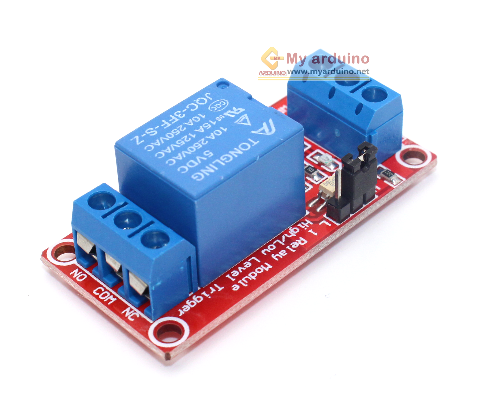 Relay Module 5V 1 Channel isolation High And Low Trigger 250V/10A