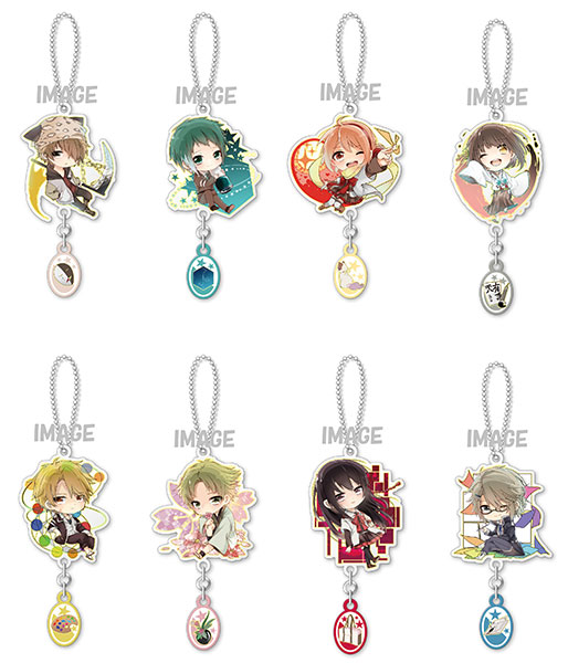 Eformed Mikagura School Suite - Metal Charm 8Pack BOX(Pre-order)