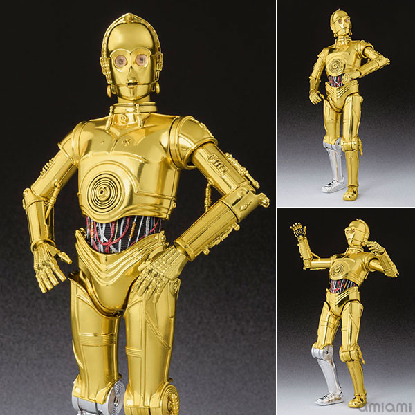 "S.H. Figuarts - C-3PO (A NEW HOPE) ""STAR WARS (A NEW HOPE)""(Pre-order)"