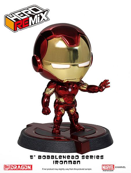 Hero Remix Bobble Head Series - Avengers: Iron Man Mk.43 (Chrome Plating ver.) (Complete Figure)(Tentative Pre-order)