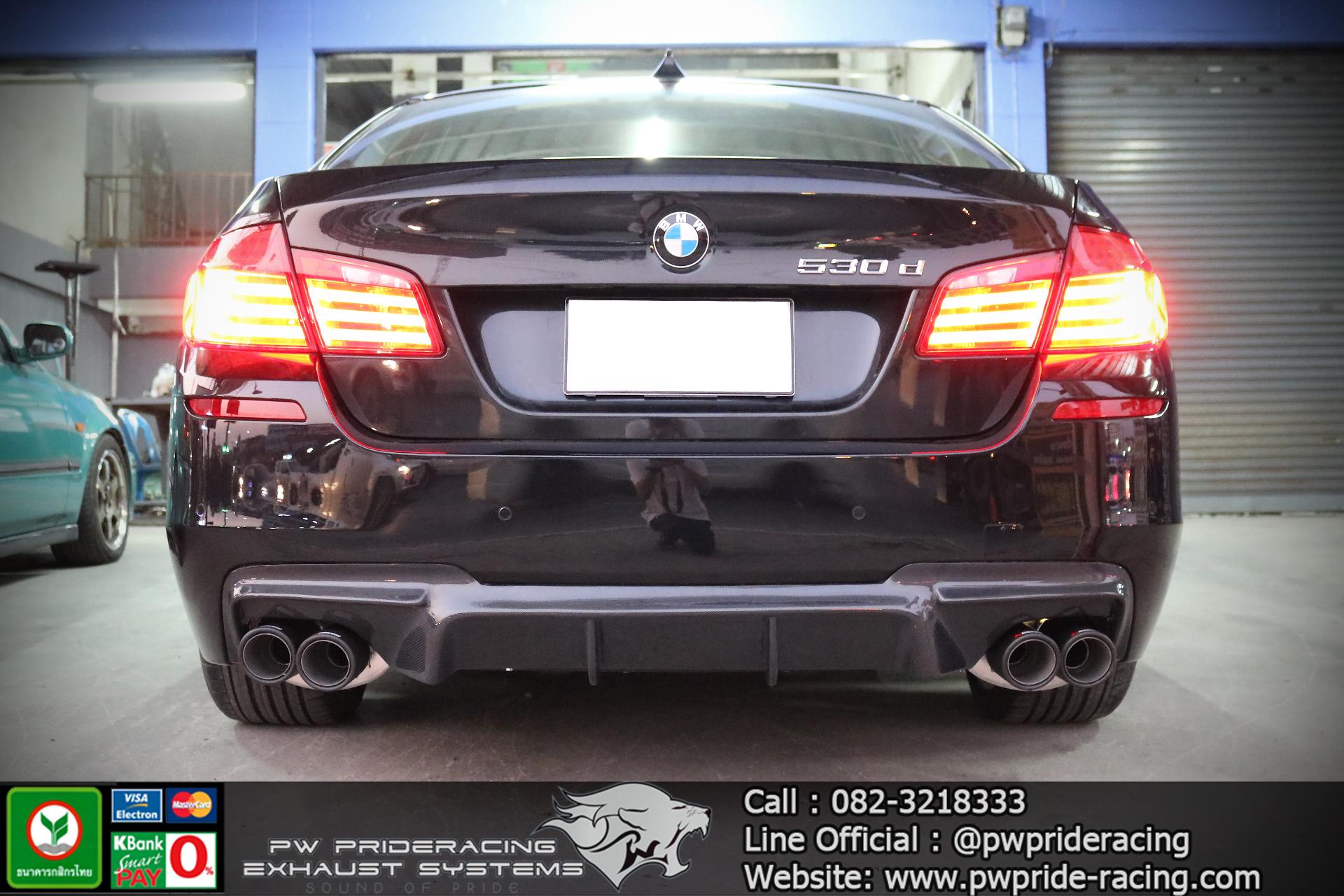 ชุดท่อไอเสีย BMW 530D F10 by PW PrideRacing