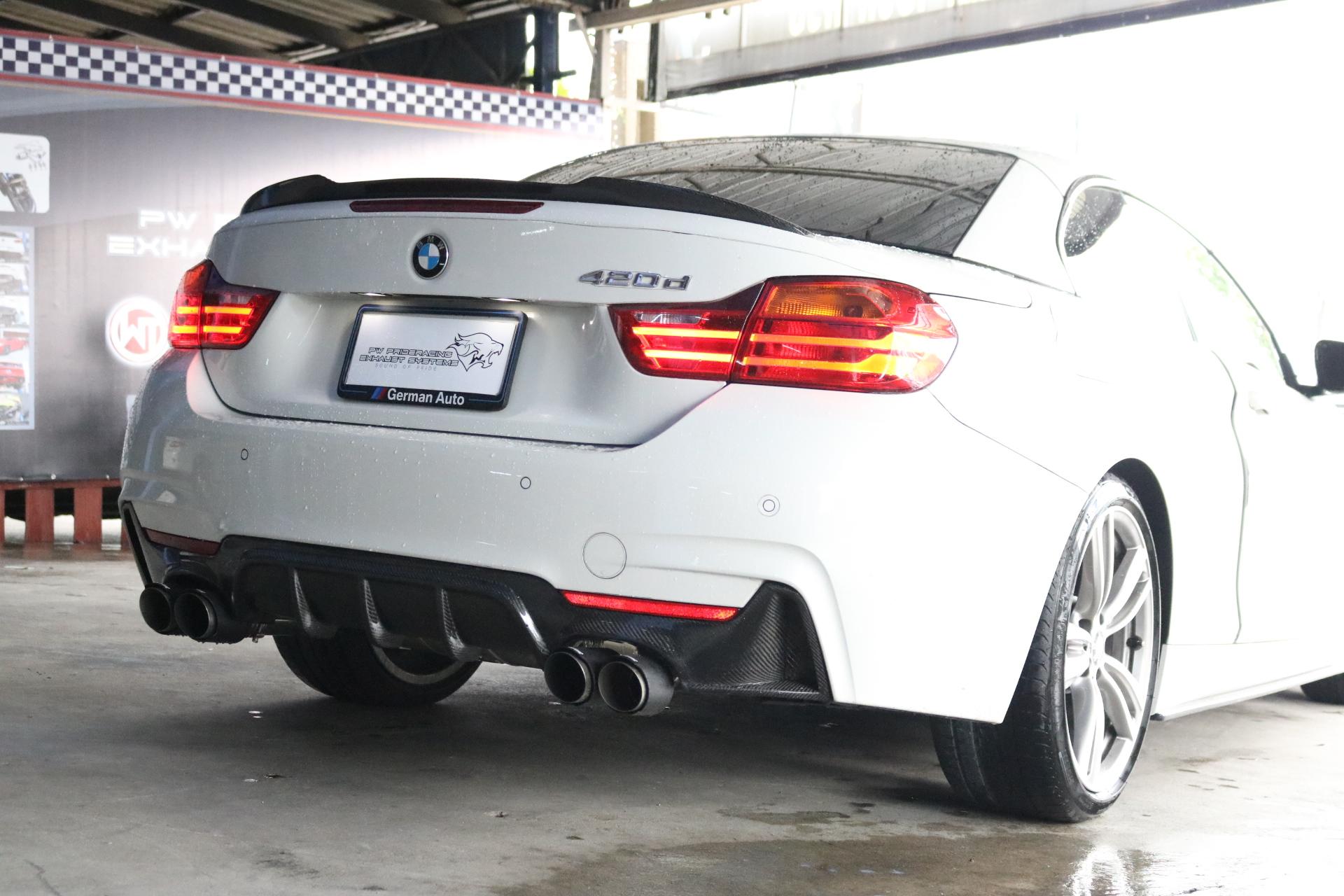 ชุดท่อไอเสีย Valvetronic BMW 420D F32 by PW PrideRacing