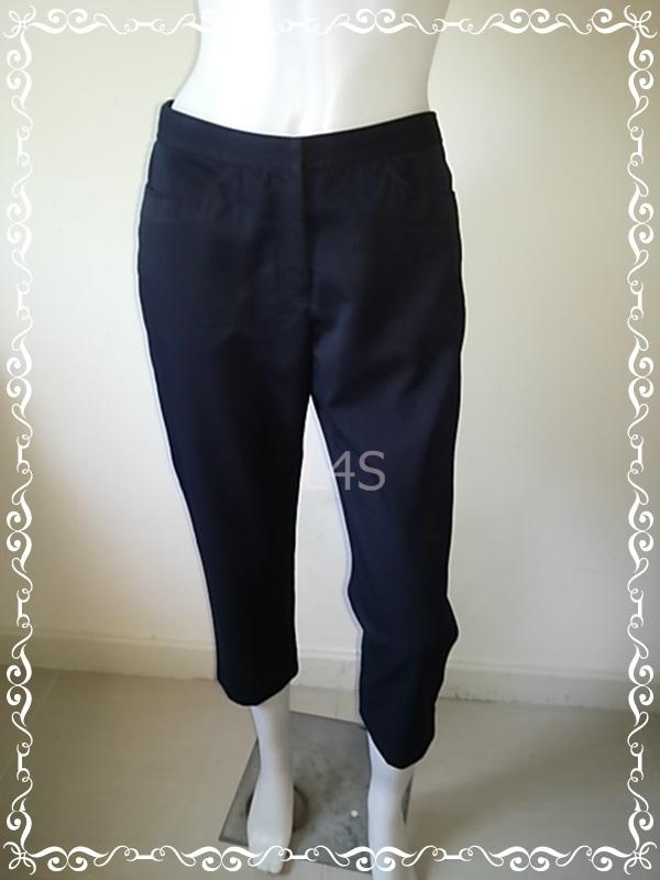 BNB1314-กางเกงผ้า แบรนด์เนม เอว 27 นิ้ว