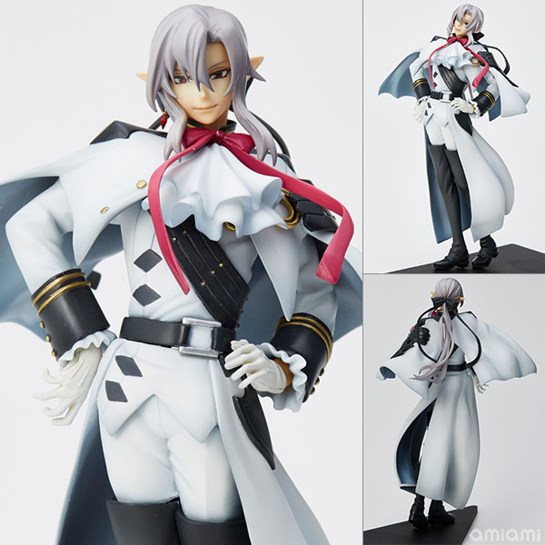 mensHdge technical statue No.24 Seraph of the End - Ferid Bathory Complete Figure(Pre-order)