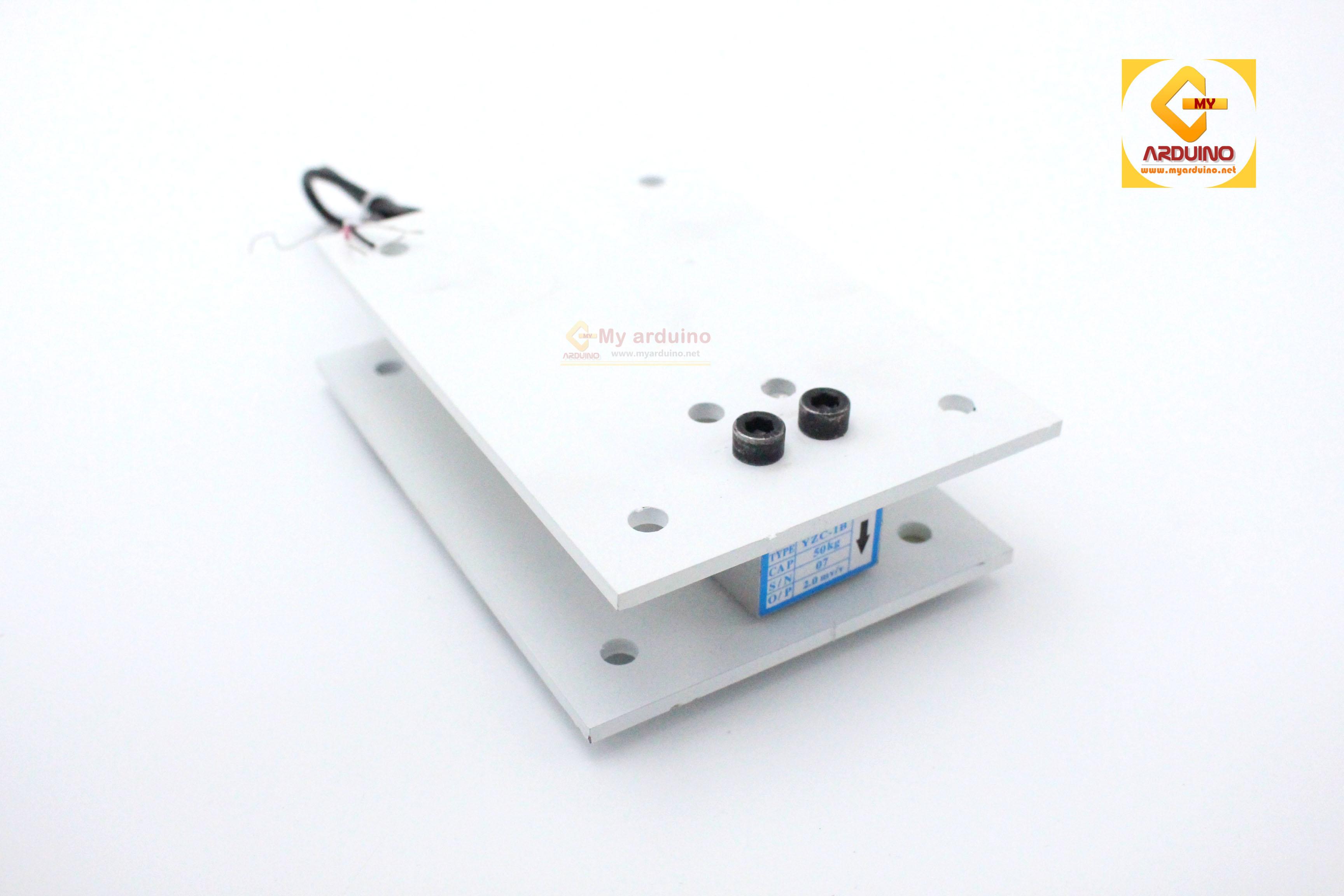 Load Cell ฐานรับน้ำหนัก แบบสี่เหลี่ยม 50kg,120kg,200kg