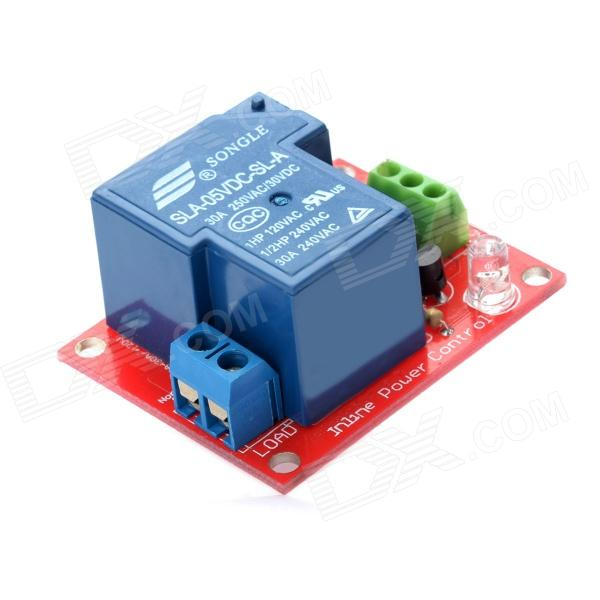 Relay Module 5V 1 Channel isolation control Relay Module Shield 250V/30A