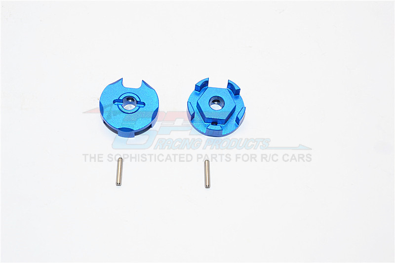 ALUMINIUM WHEEL HEX CLAW - 2PCS (FOR SLASH 4X4 & LOW-CG 68086-21 VERSION) สำเนา
