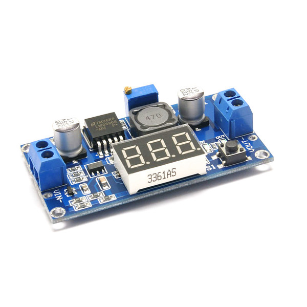 LM2596 Converter Buck Step Down Regulator Power Module 4-40 to 1.25-30V 3A
