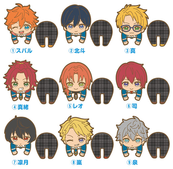 Ensemble Stars! - Nokkari Rubber Clip vol.1 9Pack BOX(Pre-order)