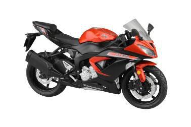 1/12 Complete Motorcycle Model Kawasaki Ninja ZX-6R 2014 (Orange)(Back-order)
