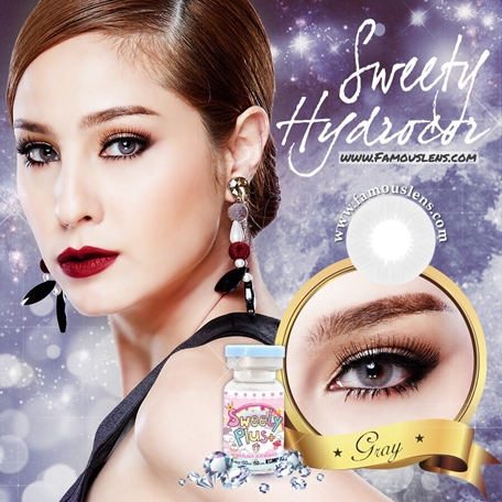 Sweety Hydrocor Gray Contact Lenses