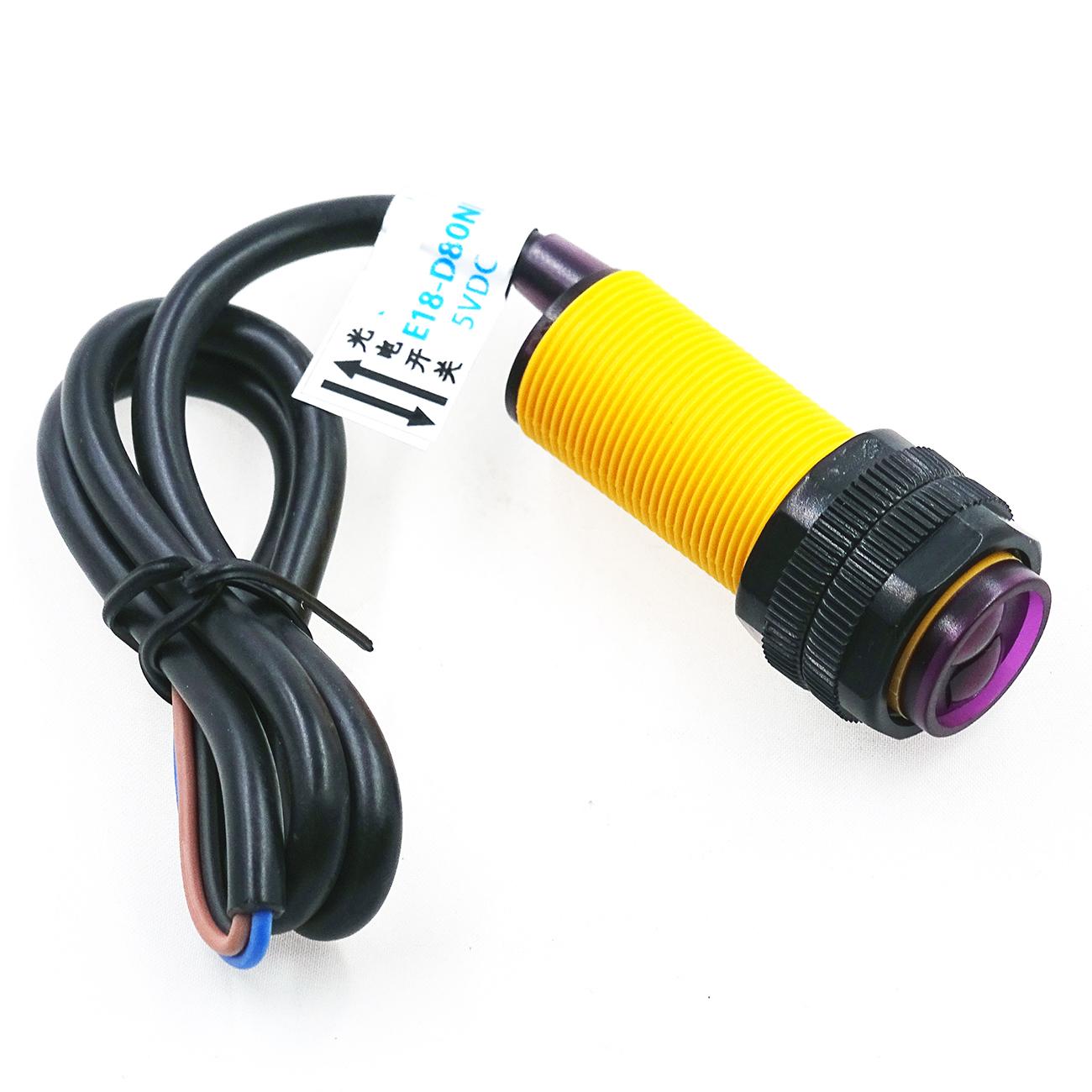 เซ็นเซอร์ตรวจจับวัตถุ Infrared photoelectric switch Sensor E18-D80NK