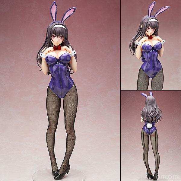 B-STYLE - Saekano: How to Raise a Boring Girlfriend Flat: Utaha Kasumigaoka Bunny Ver. 1/4 Complete Figure(Pre-order)