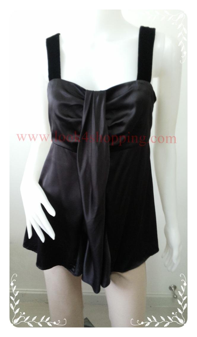 jp2986-เสื้อแฟชั่น สวยๆ สีดำ Simply Vera VERA WANG อก 33 นิ้ว