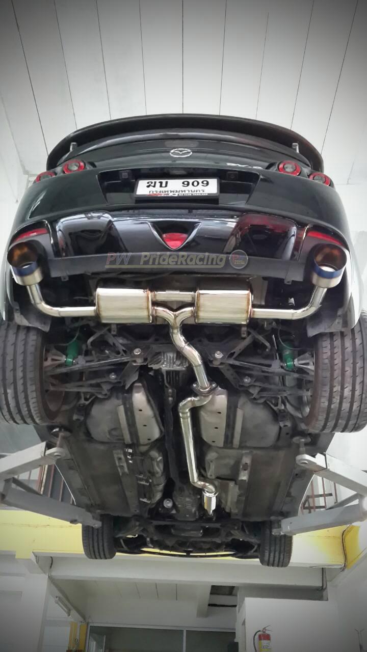 ชุดท่อไอเสีย Mazda Rx8 Mx5 ฯลฯ