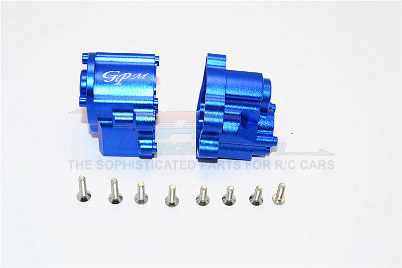 ALUMINIUM TRANSMISSION CASE -2PCS SET