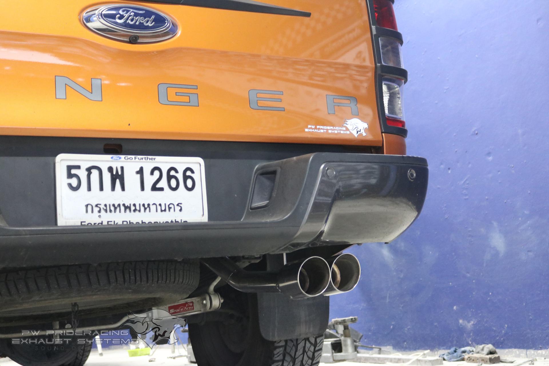 ชุดท่อไอเสีย Ford Ranger 3.2