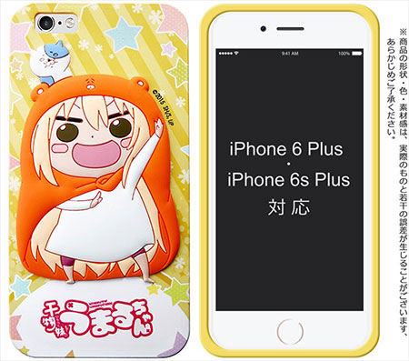 Himouto! Umaru-chan - Umaru-chan Silicone Jacket (Soft Rubber Smartphone Case) *iPhone 6 PLUS/iPhone 6s PLUS(Pre-order)