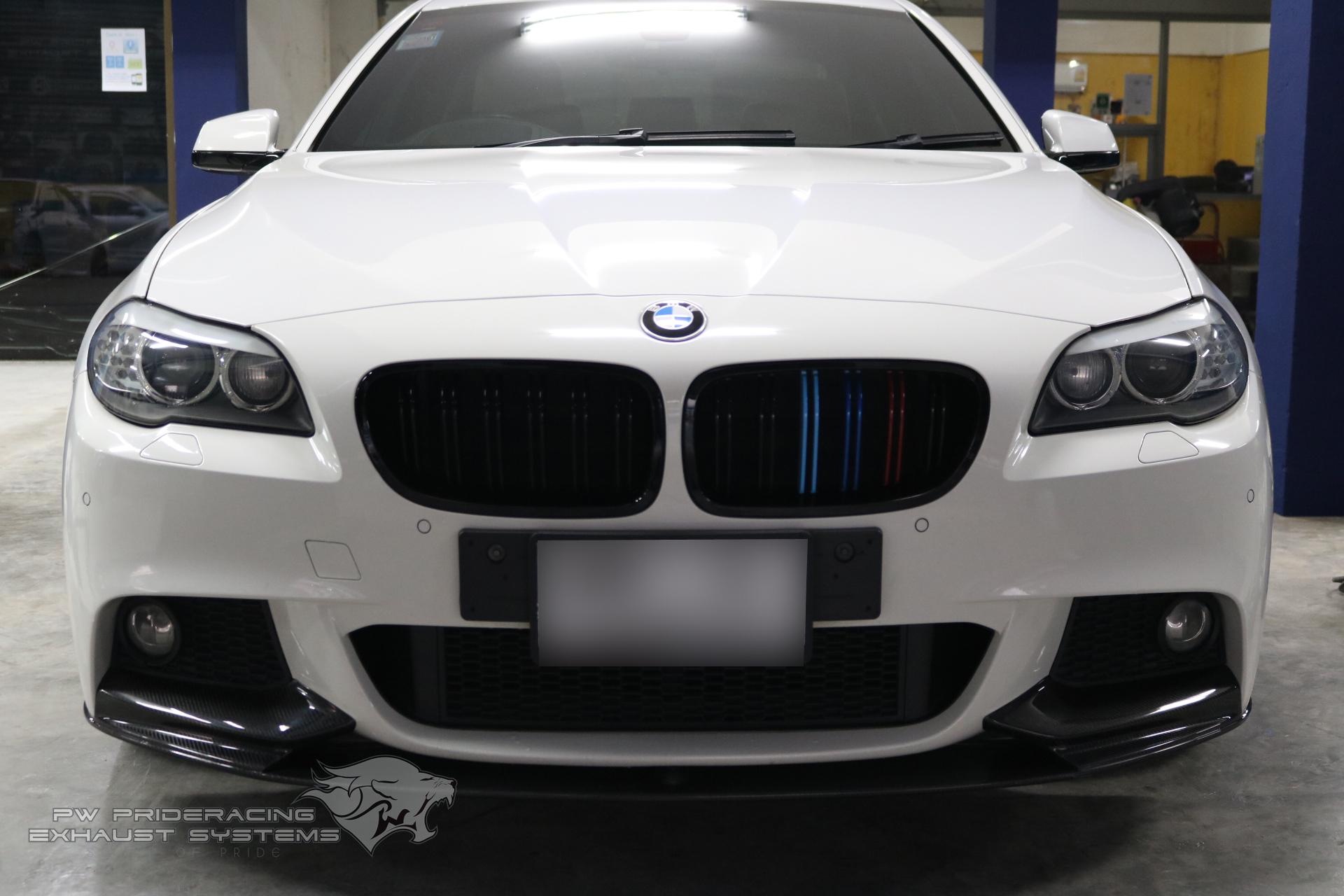 ชุดท่อไอเสีย BMW F10 520D Diesel Engine Full Exhaust System