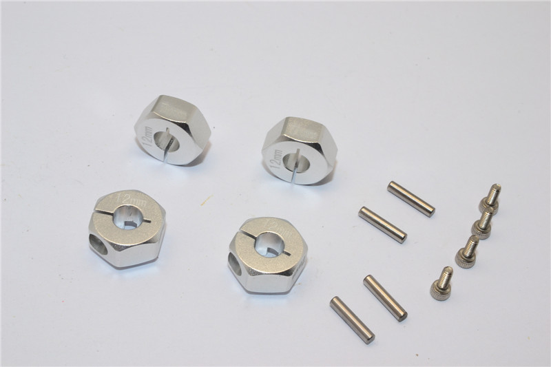 ALLOY HEX ADAPTER (12MMX7MM)-4PCS - AX010/12X7MM