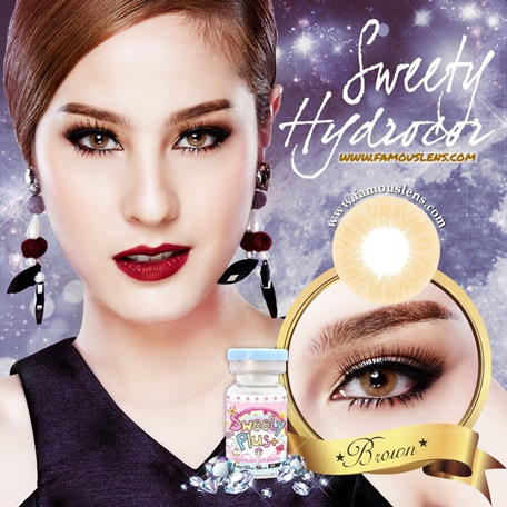 Sweety Hydrocor Brown Soft Lens