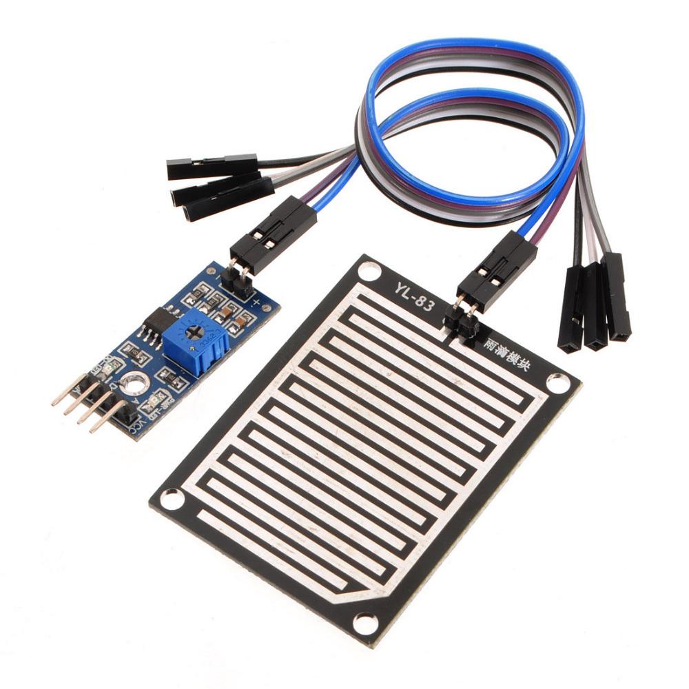 เซนเซอร์น้ำฝน ความชื้น Rain / Water Detection Sensor Module