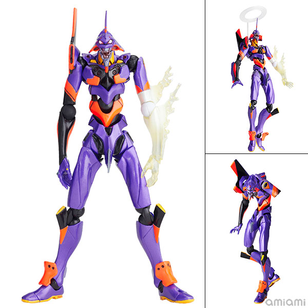 "Revoltech EVANGELION EVOLUTION EVA-01 Test Type ""Awakened Ver.""(Pre-order)"