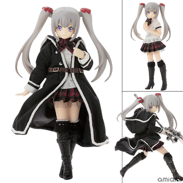 1/12 Luluna / Black Raven -The gale of the scythe. The Beginning of the End- Misty Silver Complete Doll(Pre-order)