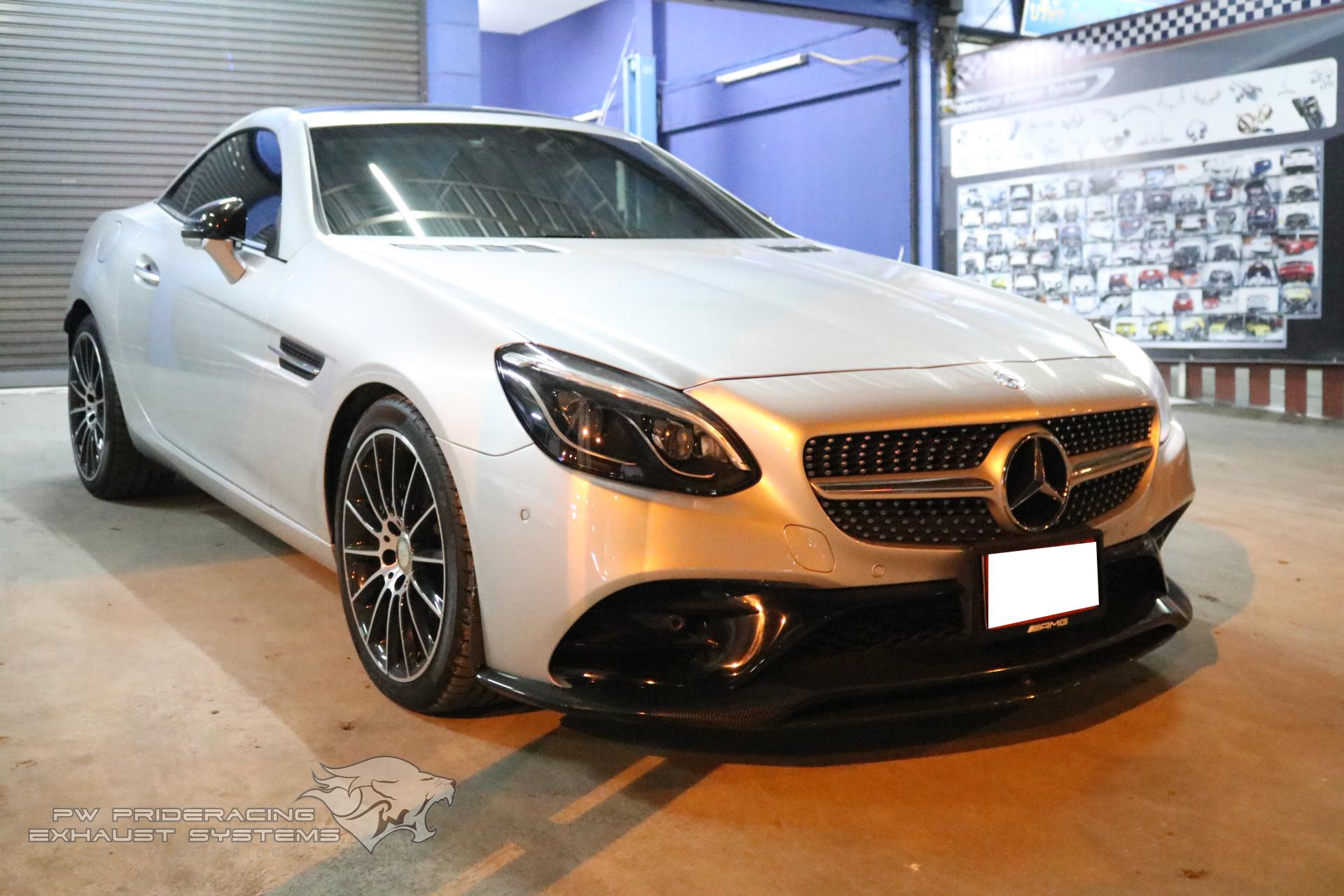 ชุดท่อไอเสีย Mercedes-Benz SLC300 R173