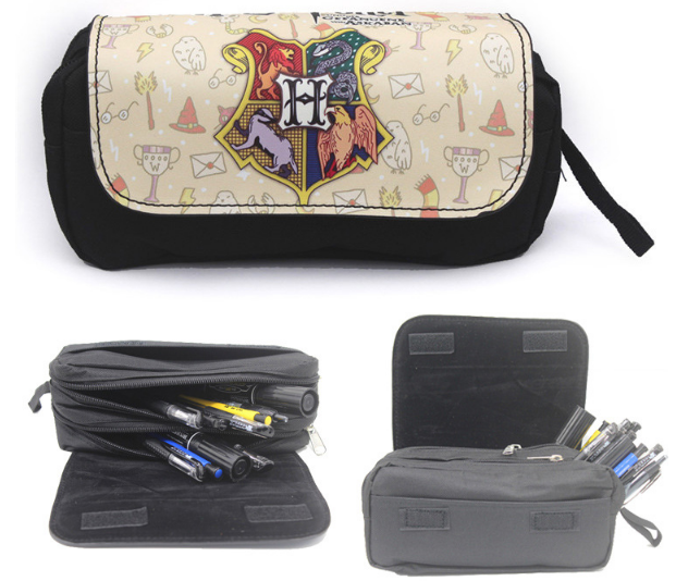 กระเป๋าดินสอ แฮร์รี่ พอตเตอร์ ฮอกวอตส์สีขาว