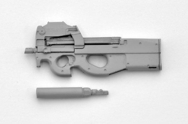 LittleArmory [LA039] P90 Type 1/12 Plastic Model(Pre-order)