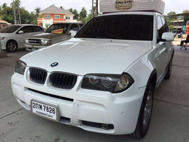 ฟรีดาวน์ ผ่อน 15657*72 BMW X3 E83 2.5siSE AT