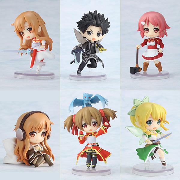 Toy'sworks Collection Niitengo Deluxe - Sword Art Online 6Pack BOX(Pre-order)