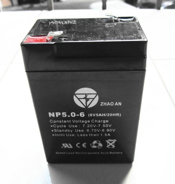 แบตเตอรี่ตะกั่วกรด 6V 5AH