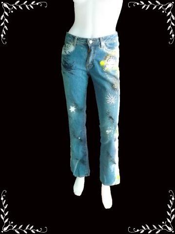 "BNB0808-ของใหม่ กางเกงยีนส์ แบรนด์เนม CHAPS Jeans ""เอว 28 นิ้ว"""
