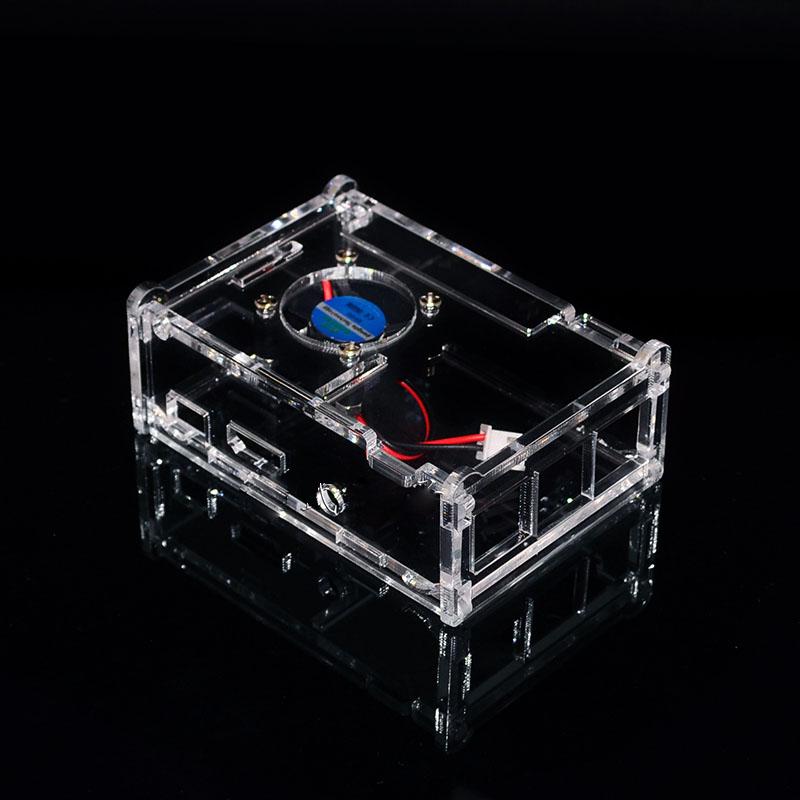 Raspberry pi 3/2/B+ case พร้อมพัดลมระบายความร้อน