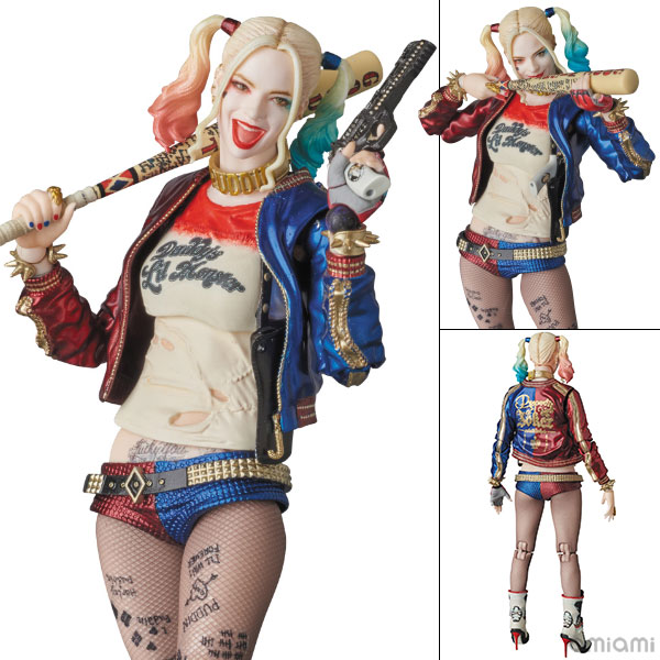 """MAFEX No.033 MAFEX HARLEY QUINN """"SUICIDE SQUAD""""(Pre-order)"""