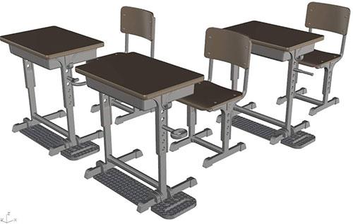 LittleArmory (LD013) Specified Defense School Desk(Pre-order)
