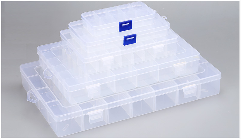 Electronics box กล่องอิเล็กทรอนิกส์ 36ช่อง ขนาด 175mmx270mmx45mm (กxยxส)