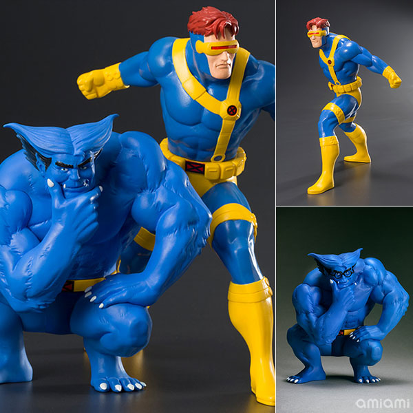 ARTFX+ - MARVEL UNIVERSE: Cyclops & Beast 2Pack 1/10 Easy Assembly Kit(Pre-order)