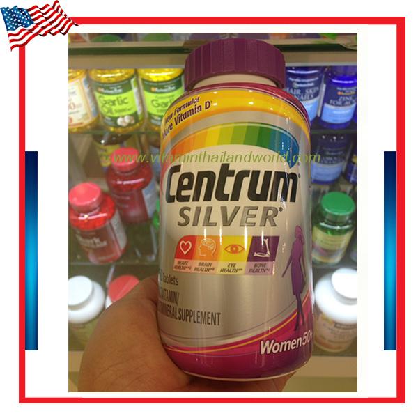 Centrum® Silver® Women 50+MultiVitamin MultiMineral Supplement ( 250 Tablets )