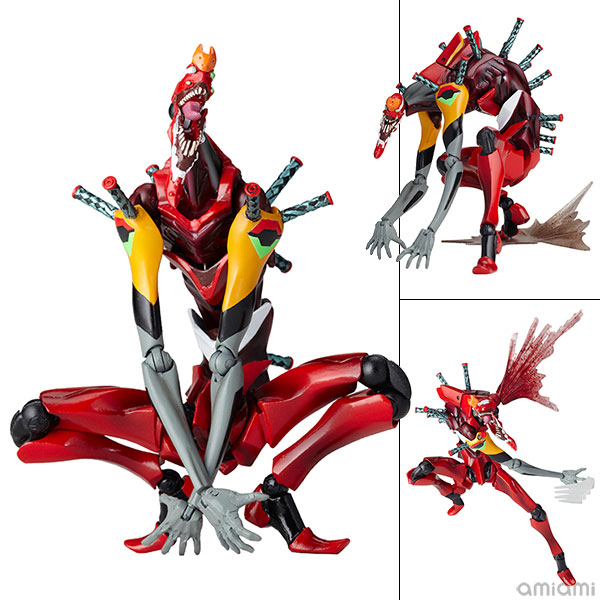 "Revoltech EVANGELION EVOLUTION EVA-02 Beast Mode 2nd Form ""The Beast""(Pre-order)"