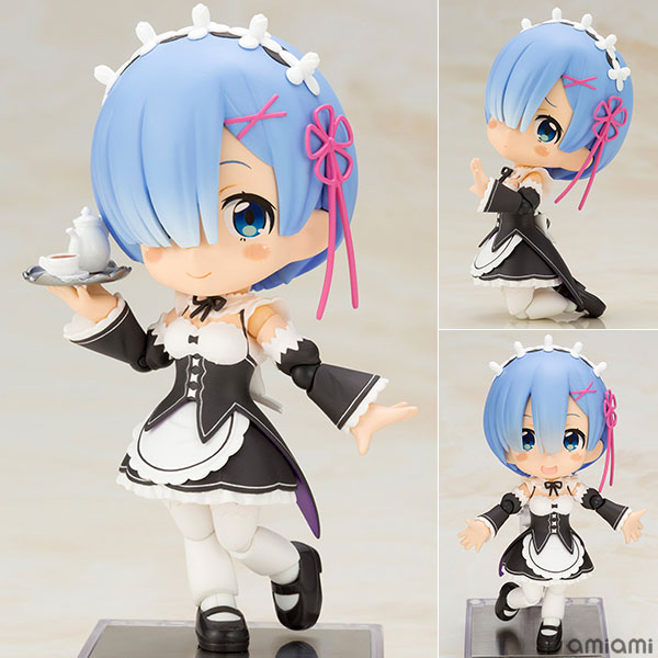 Cu-poche - Re:ZERO -Starting Life in Another World- Rem Posable Figure(Pre-order)
