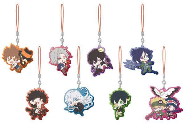 Reborn! - Clear Rubber Strap 8Pack BOX(Pre-order)