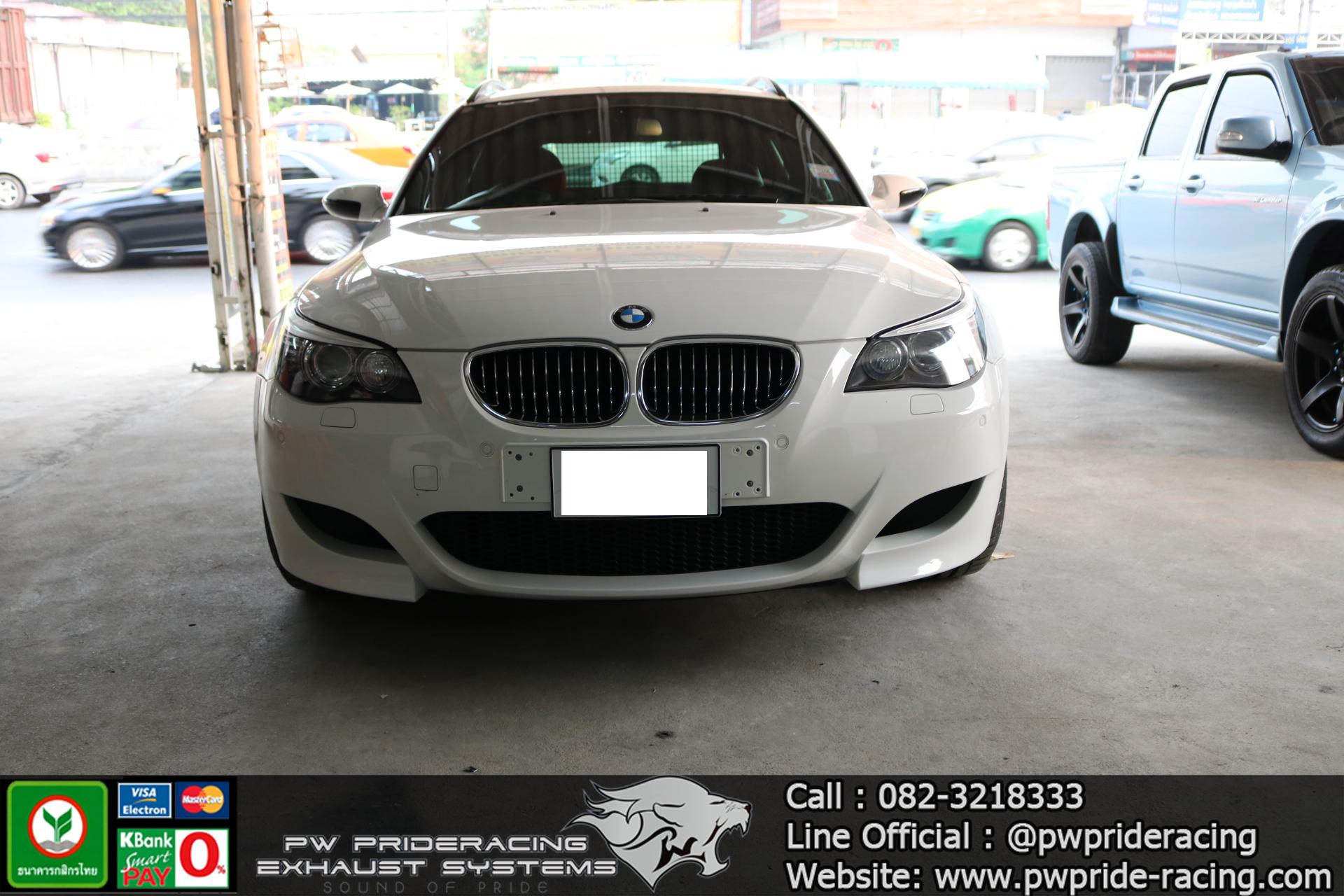 ชุดท่อไอเสีย BMW M5 E61 (Touring) @PW PrideRacing