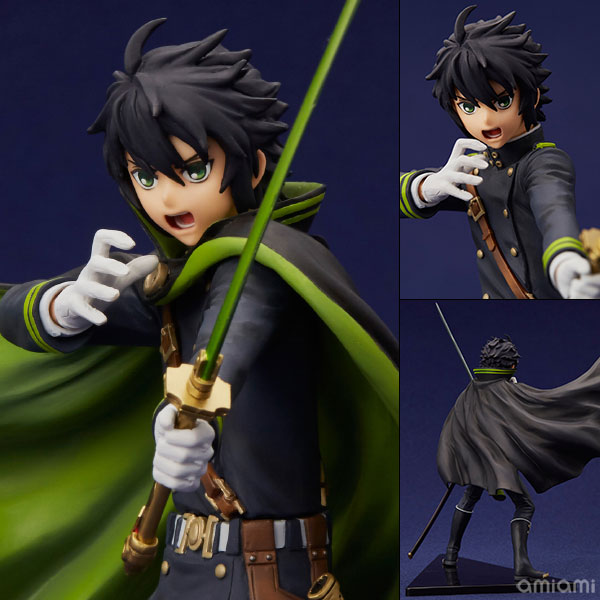 mensHdge technical statue No.21 Seraph of the End - Yuichiro Hyakuya Complete Figure(Pre-order)