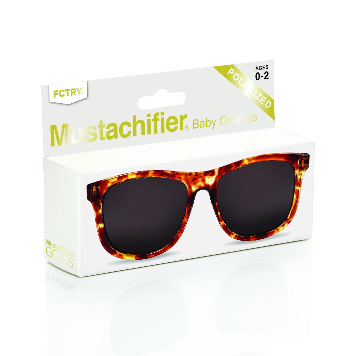 Mustachifier Tortoise Sunglasses Age 0-2 แว่นกันแดดลายกระ